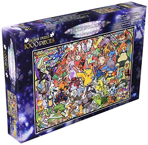 Pokemon Puzzle - ensky 1000 Piece Art Crystal Jigsaw Puzzle Pokemon Best Partner (50 x 75 cm)