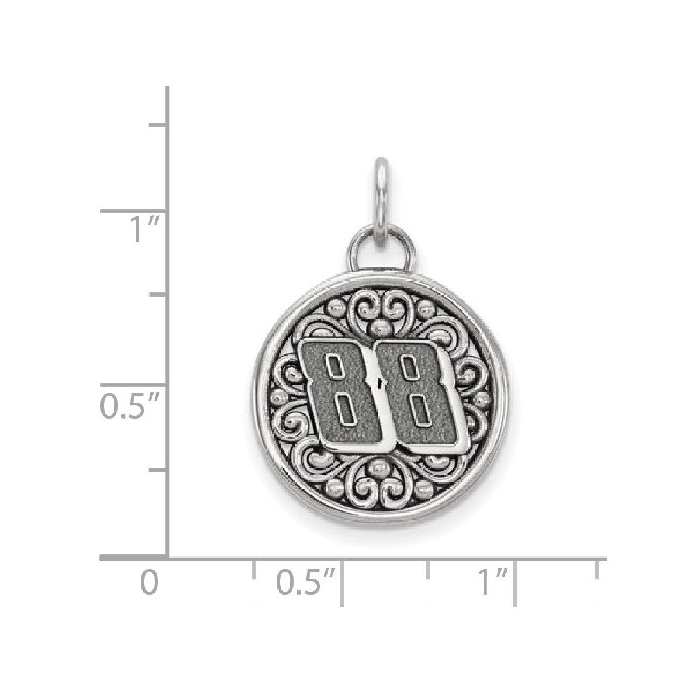 Amazon 925 Sterling Silver BALI TYPE ROUND PENDANT 88 Jewelry