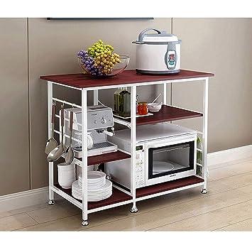 Amazon.com: BeautyShe Soporte para horno de microondas ...