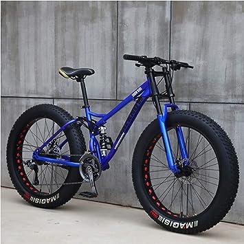 AISHFP 26 Pulgadas Fat Tire Bicicleta Todo Terreno, Motos de Nieve ...