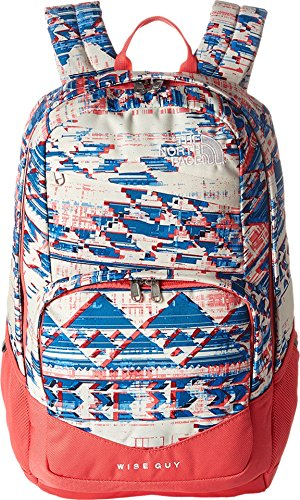 The North Face Wise Guy Backpack Native Frequencies Print/Calypso Coral One Size