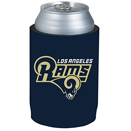 c9440265 Los Angeles Rams NFL Team Logo Sports Drink Beer Water Soda Beverage Picnic  Outdoor Party Beach BBQ Kooler Can Cooler Insulator - 12oz Kolder Holder