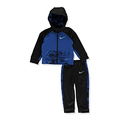 7cc594c68875 Nike Baby Boys 2-Pc. Therma Colorblocked Hoodie   Jogger Pants Set ...