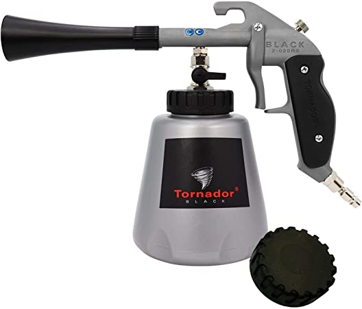 Tornador Black Auto Reinigungspistole Z020 Rs Z 020 Rs Reinigt Verunreinigungen Von Kunststoffen Gummi Vinyl Teppich Und Polster 602420 Auto