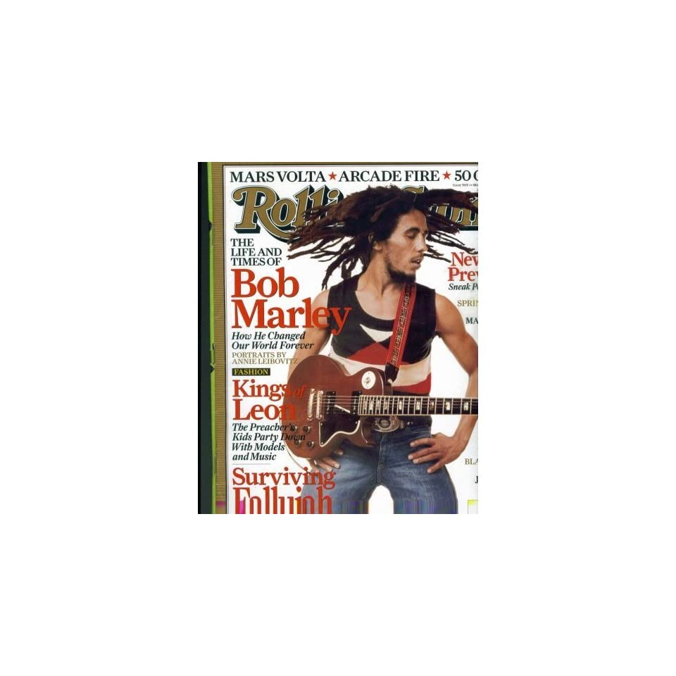 Rolling Stone March 10, 2005. Issue 969. Bob Marley (Life and Times of Bob Marley.)