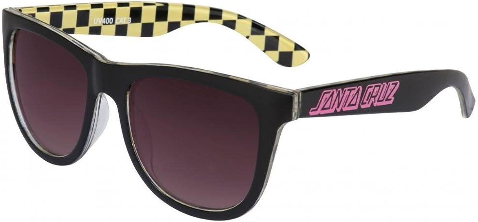 Gafas De Sol Santa Cruz Classic Check Negro-Amarillo (Default , Negro)