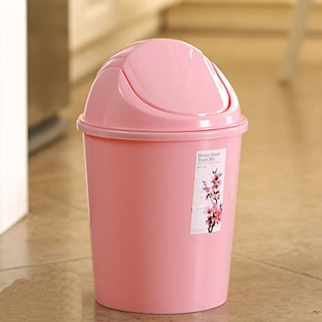 Creative Kitchen Trash Can Trash Can Sitting Room Trash Bins Bedroom With  Swing Lid Waste Container