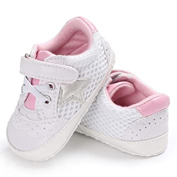 1ae71c51c491bd Amazon.com   WeiYun Stars Baby Walkers Baby Shoes Sneakers Princess Soft  Sole Shoes Toddler Casual Shoes (12Months