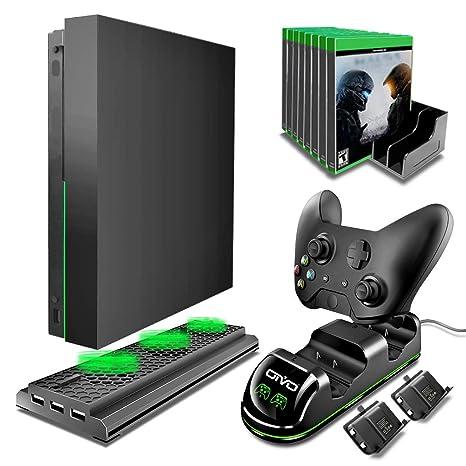 Amazon.com: Kit de accesorios para Xbox One X, OIVO 4 en 1 ...