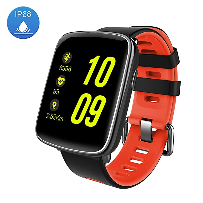 Smart Watch Sport Fitness Tracker - Luxsure IP67 Waterproof Step Counter Activity Tracker Heart Rate & Sleep Monitor Bluetooth 4.1 Touch Screen ...