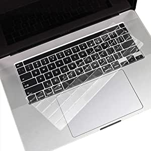 FORITO Ultra Thin TPU Keyboard Cover Skin Compatible MacBook Pro 16 inch A2141 2019 Release with Touch Bar and Touch ID Model -TPU