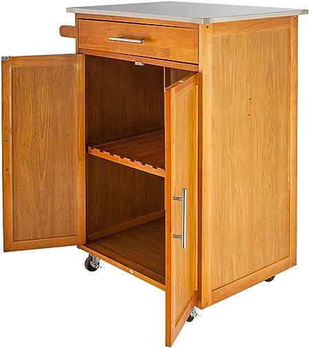 Home Furnishing Plaza Moveable Kitchen Cart