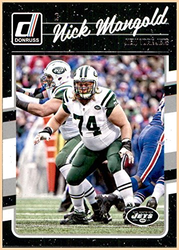 2016 Donruss by Panini #210 Nick Mangold NEW YORK JETS OHIO STATE -