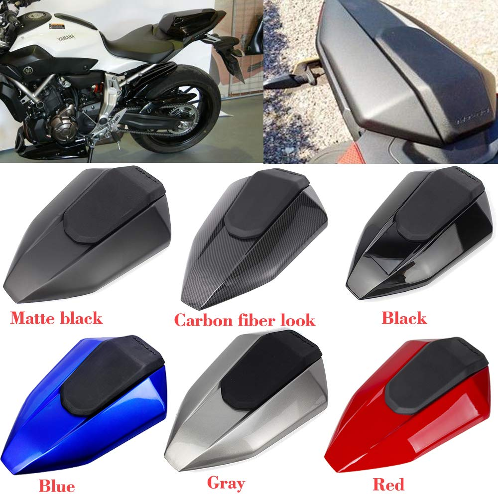 Mt07 Fz07 Motorcycle Motorbike Pillion Rear Solo Seat Cover Cowl For 2013 2016 Yamaha Fz 07 Mt 07 Mt 07 Fz 07 2014 2015 Red Buy Online In China At China Desertcart Com Productid 142136268