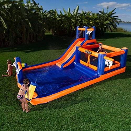 Blast Zone Pirate Bay Inflatable Combo Water Park and Bounce by Blast Zone by Blast Zone (Image #3)