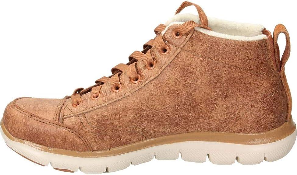 Cha cocinar una comida Todavía  Skechers Flex Appeal 2.0 Warm Wishes Womens Shoes: Amazon.co.uk: Shoes &  Bags