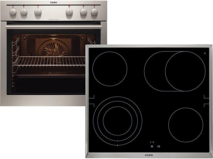 AEG empotrable Horno ee2000201 m + vitrocerámica he604070 X ...