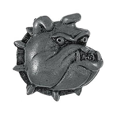 Bulldog Lapel Pin   1 Count