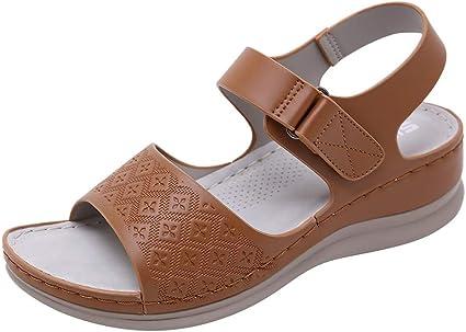Women Open Toe Flats Sandals, Ladies