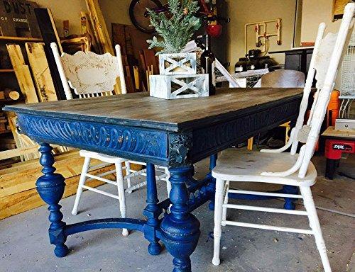 Retique It Chalk Furniture Paint by Renaissance DIY, 16 oz (Pint), 44 Ultramarine