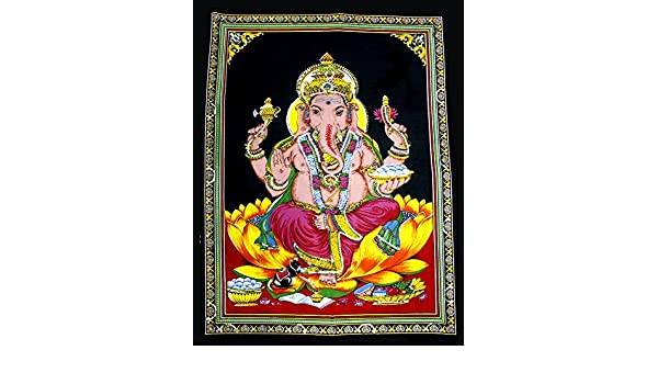 Tapestry Wall Poster Lord Shiva Hindu Shiv Wall Decor Hanging Sequence God Art