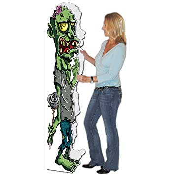 Amazon victorystore jumbo greeting cards happy birthday victorystore jumbo greeting cards happy birthday greeting card life size zombie card m4hsunfo