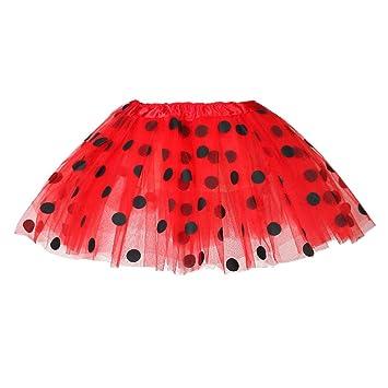 YSpoe - Falda de tutú para niñas y niñas, de Tul de Ballet, con ...