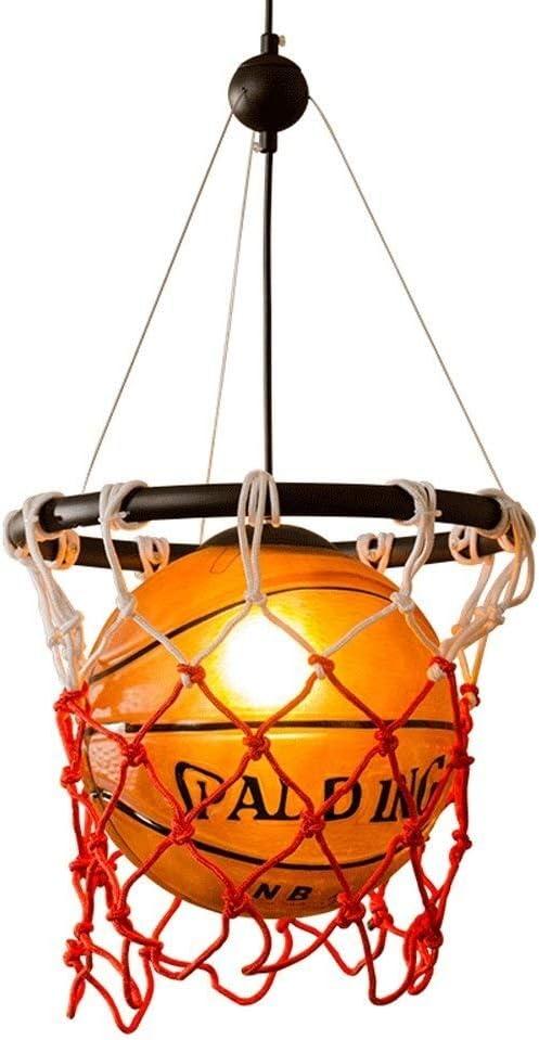TAO-Lámparas de araña Baloncesto Creativo Pendiente de la luz ...