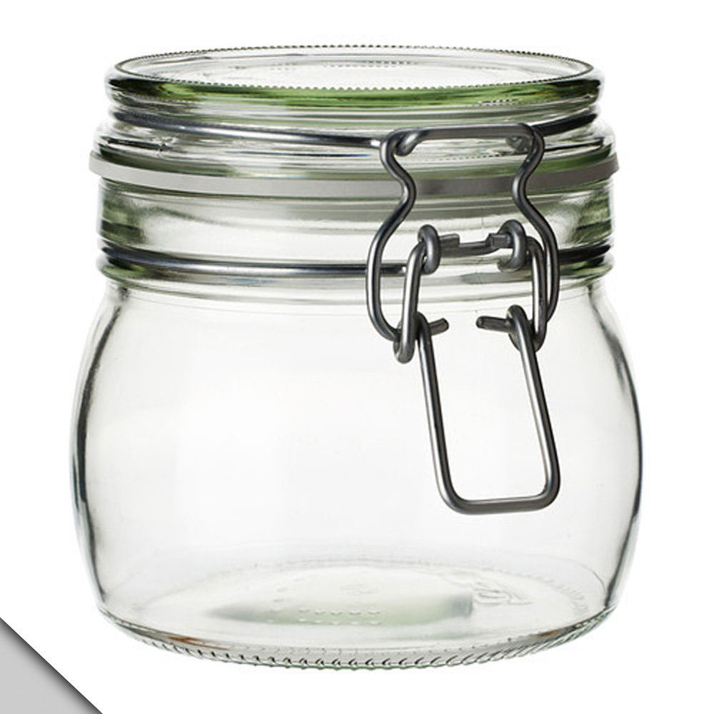 IKEA - KORKEN Jar with lid, clear glass