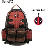 Deadpool Backpack Laptop Outdoor Sports Backpack for Boys School Bag