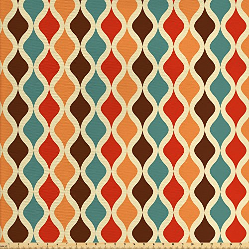 upholstery fabric retro - 8