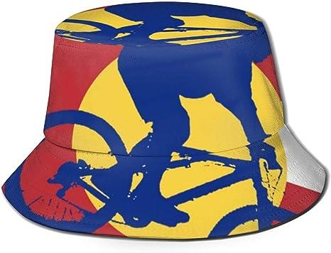 Ciclismo de montaña Bandera de Colorado Unisex Moda Bucket Hat ...