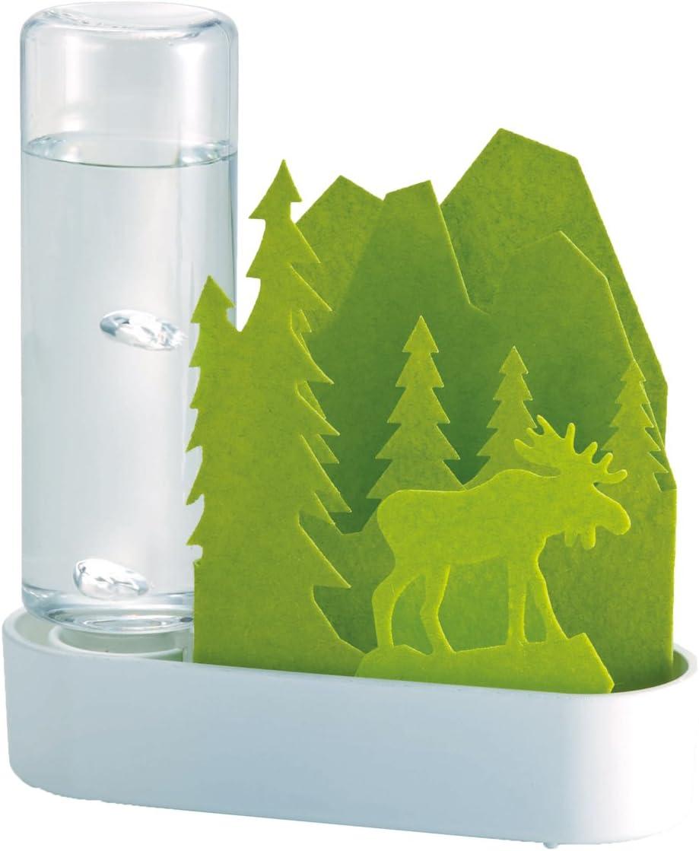 SEKISUI 自然気化式ECO加湿器 うるおい小さな森 エルク-グリーン ULT-EL-GR