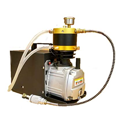 JIAN YA NA Compresor de aire eléctrico 220V para Airgun Paintball que llena alta presión 300Bar