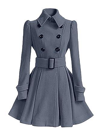 Eleganter damen mantel winter
