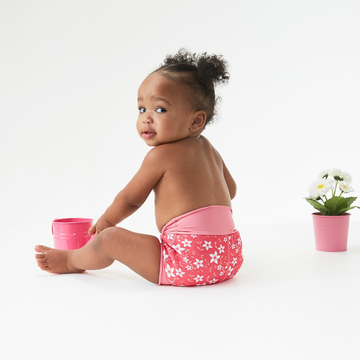 Blossom Splash About Baby Kids New Improved Happy Nappy,Pink ,1-2 Years