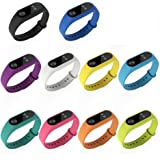 Xiaomi Mi Band 2 Strap 【10 PCs】, Sopear® Mi Band 2 Straps Silicone Replacement Watchband Watch Strap for Xiaomi Band 2