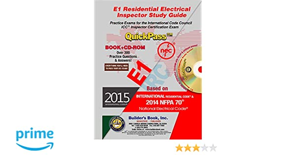 e1 residential electrical inspector quickpass study guide based on rh amazon com Electrical Engineering Electrical Engineering