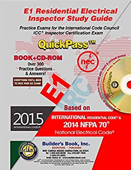 e1 residential electrical inspector quickpass study guide based on rh amazon com Home Electrical Wiring Books Home Wiring