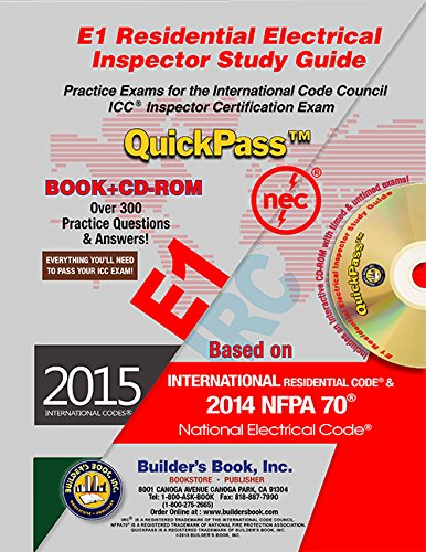 E1 Residential Electrical Inspector QuickPass Study Guide