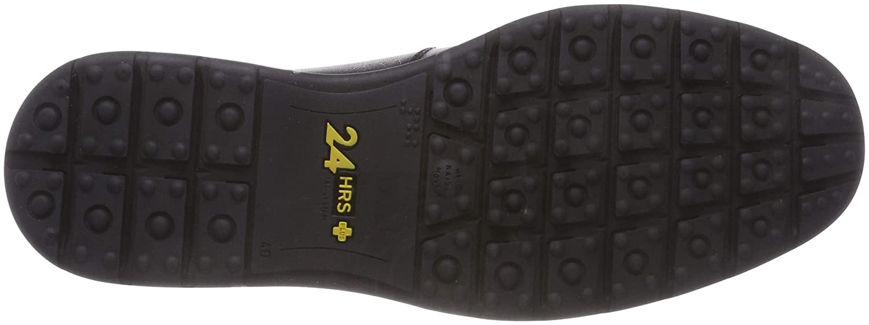24 HORAS 10420, Mocasines para Hombre, (Negro 7), 41 EU: Amazon.es: Zapatos y complementos