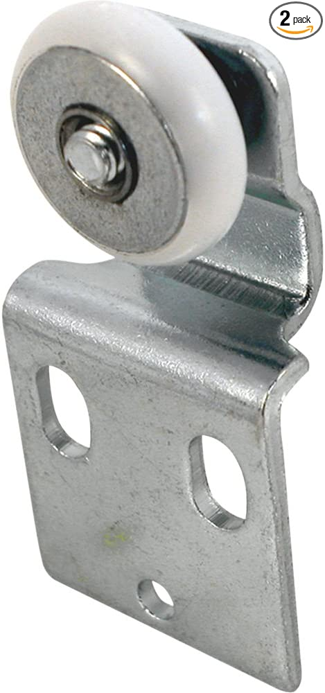 Slide-Co 16218-B Closet Door Tandem Roller with Back 1//2-Inch Offset and 7//8-Inc