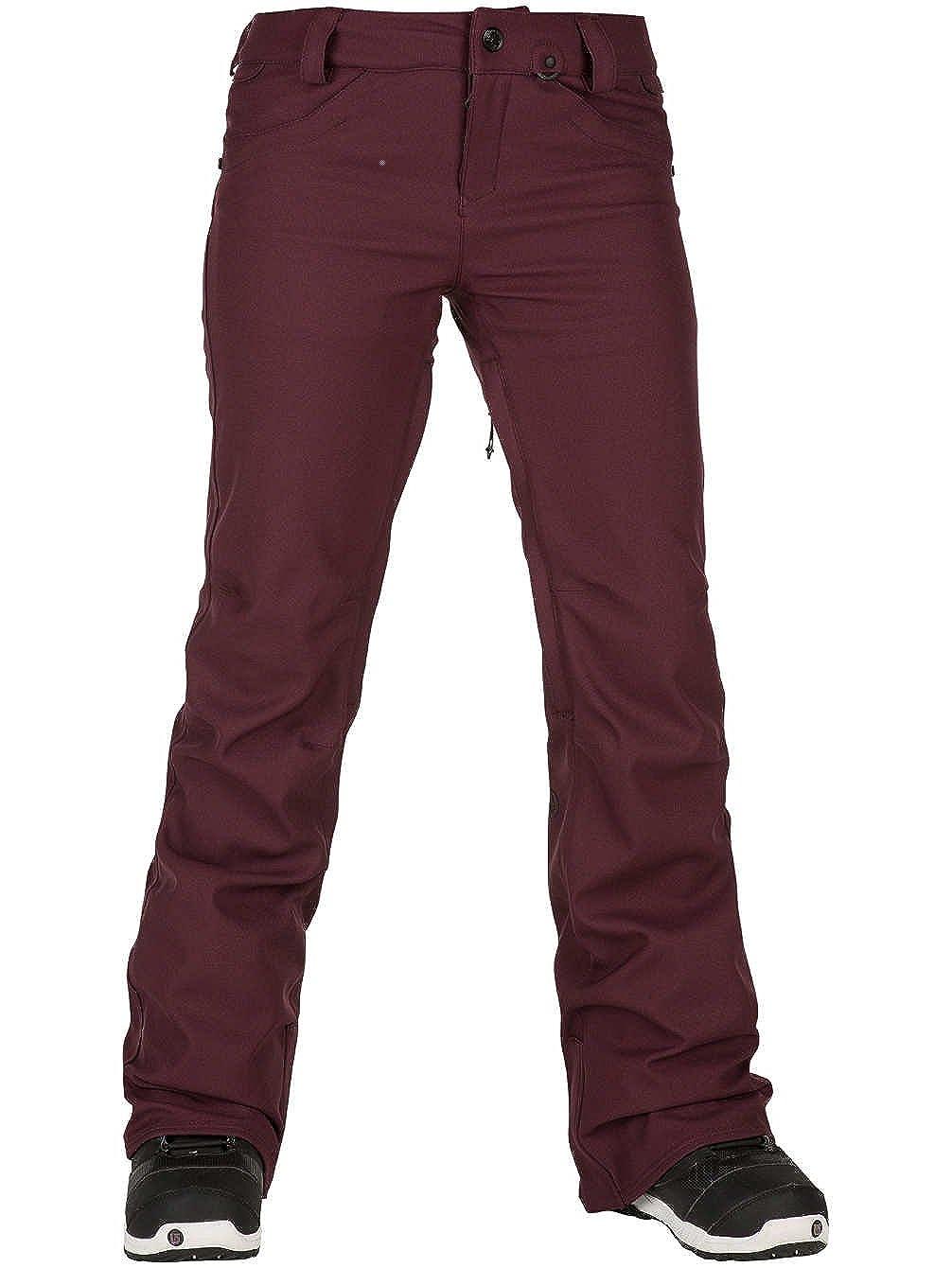 MERLOT XXS Volcom - Pantalon Femme De Ski Snow Species Stretch Copper - Femme - Marron