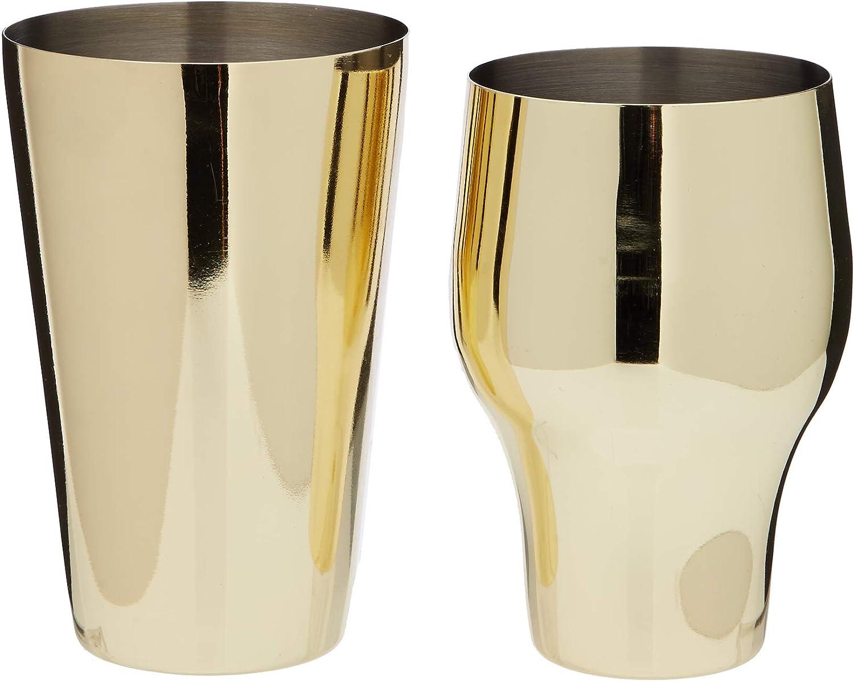 Barprofessional PSGLD02 Parisian Shaker Gold