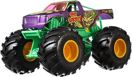 Hot Wheels Test Subject Monster Truck, 1:24 Scale