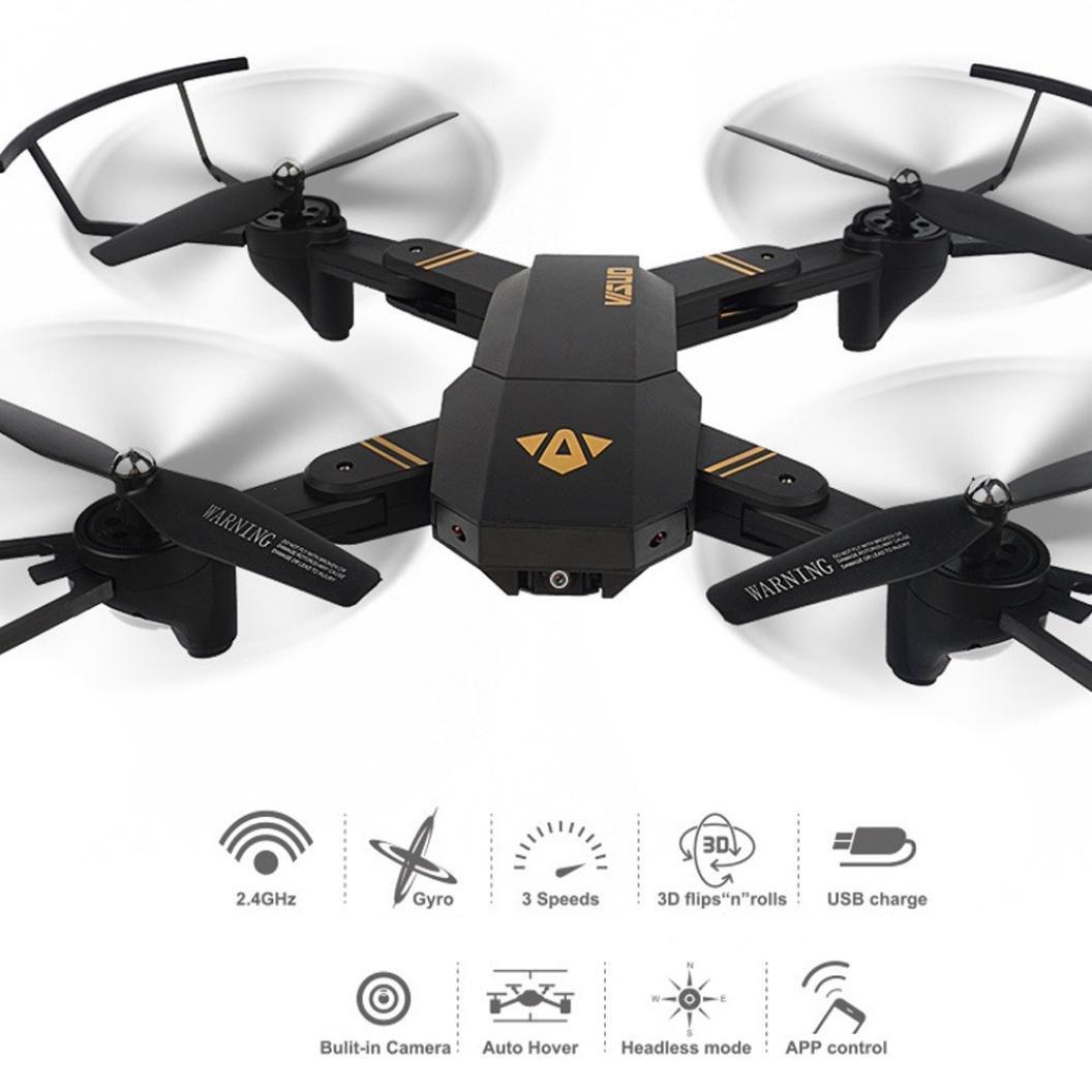Jaminy Nagelneue VISUO XS809HW Wifi Wifi Wifi FPV 2MP Kamera 2.4G Selfie RC Quadcopter Spielzeug 5fc623