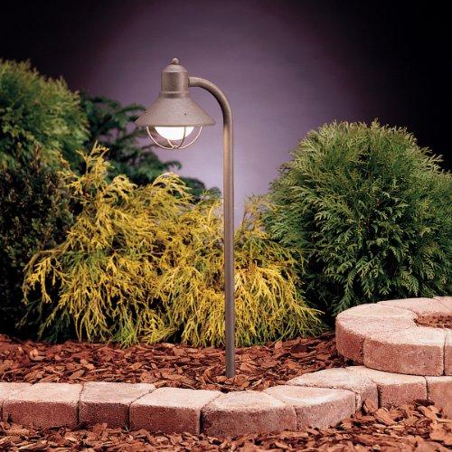 Kichler 15438OB One Light Path & Spread - Kichler Olde Brick Path