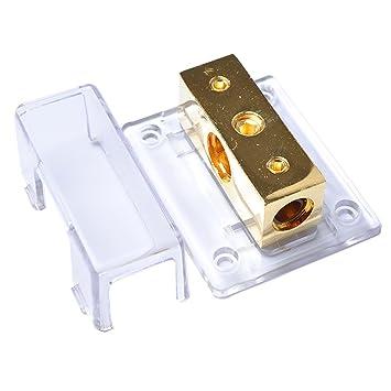 VORCOOL 2-Wege-Auto Audio Stereo Amp Power Ground Kabel Splitter ...