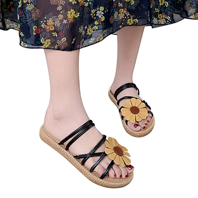 e42a54f066c Amazon.com  BSGSH 2018 Fashion Women s Summer Sandals