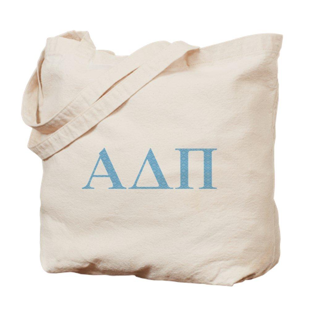 CafePress – アルファデルタPi letters – ナチュラルキャンバストートバッグ、布ショッピングバッグ B071JPD45V